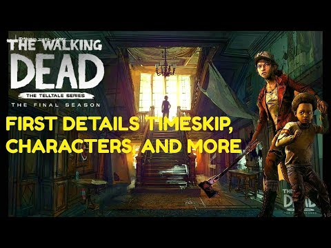 """The Walking Dead:Season 4: """"The Final Season"""" First Details - new gameplay style and timeskip"""