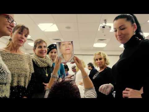 סדנת מתיחת פנים באמצעות טכנולוגיית חוטים נספגים - מרצה ומדגימה ד''ר אוקסנה פינקל