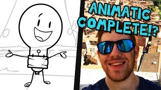 ANIMATIC COMPLETE + I live in Italy now || Adamation Vlog (Ep. 1)