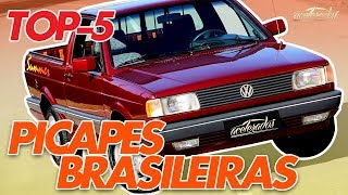 TOP-5: PICAPES MAIS LEGAIS DO BRASIL! - ACELELISTA #17