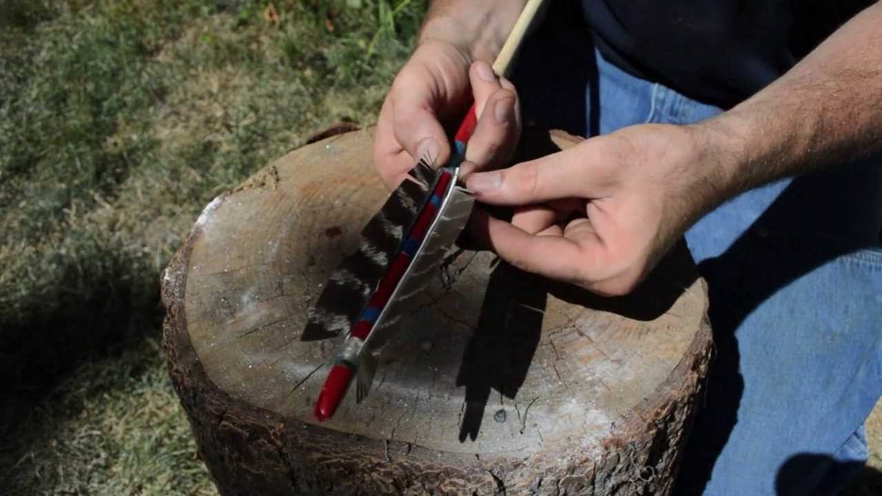 How To Make A Native American Comanche Arrow For Primitive Archery