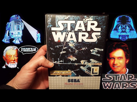 STAR WARS, Sega Master System, Longplay, Completed, 1993, sm