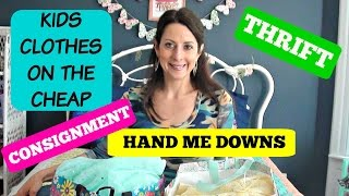 Tips on Consignment Shopping | Kids Consignment & Thrift Haul | Kids clothes on the Cheap