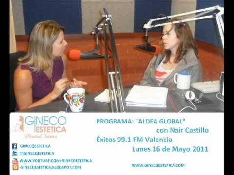 """""""Aldea Global"""" Exitos 99.1 FM - Dra. Maryory Gomez - EL REJUVENECIMIENTO VAGINAL"""