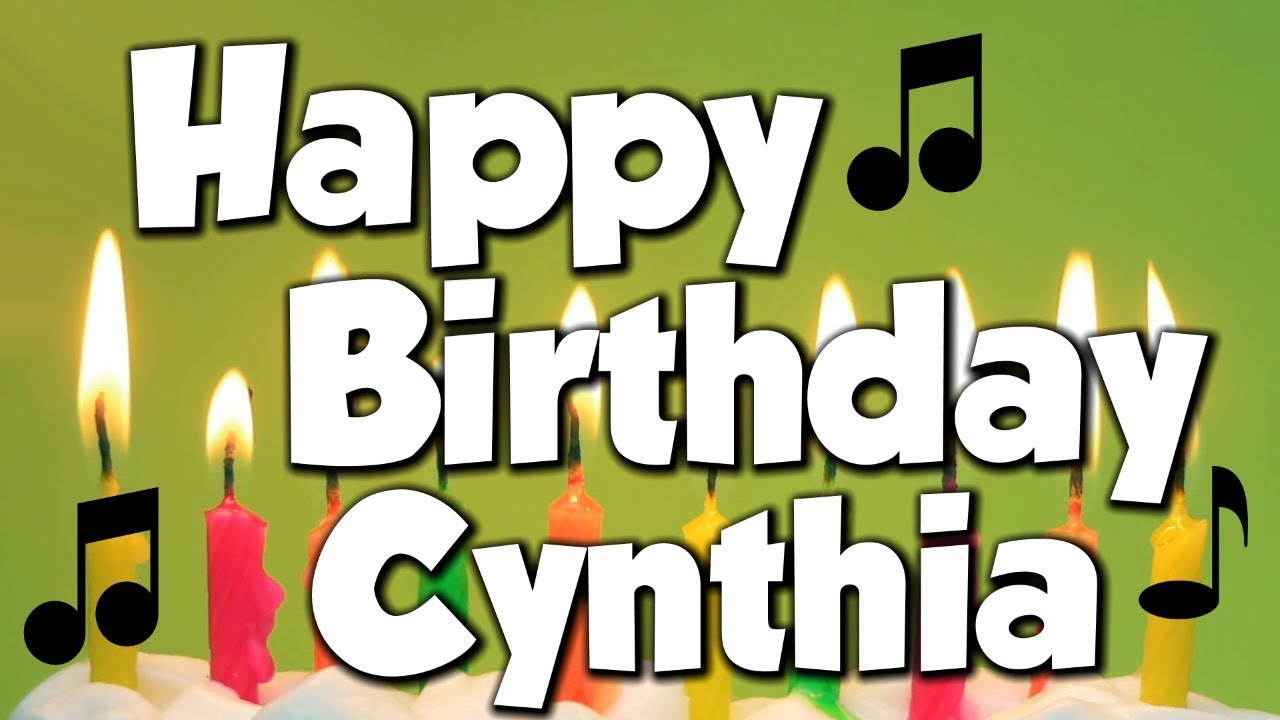 Image result for happy birthday cynthia