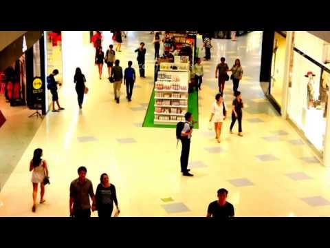 Cute Asians Shopping in Singapore of Asia - 동영상