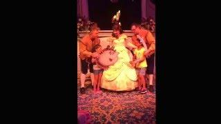 Enchanted tales with Belle magic kingdom Walt Disney world April 2016
