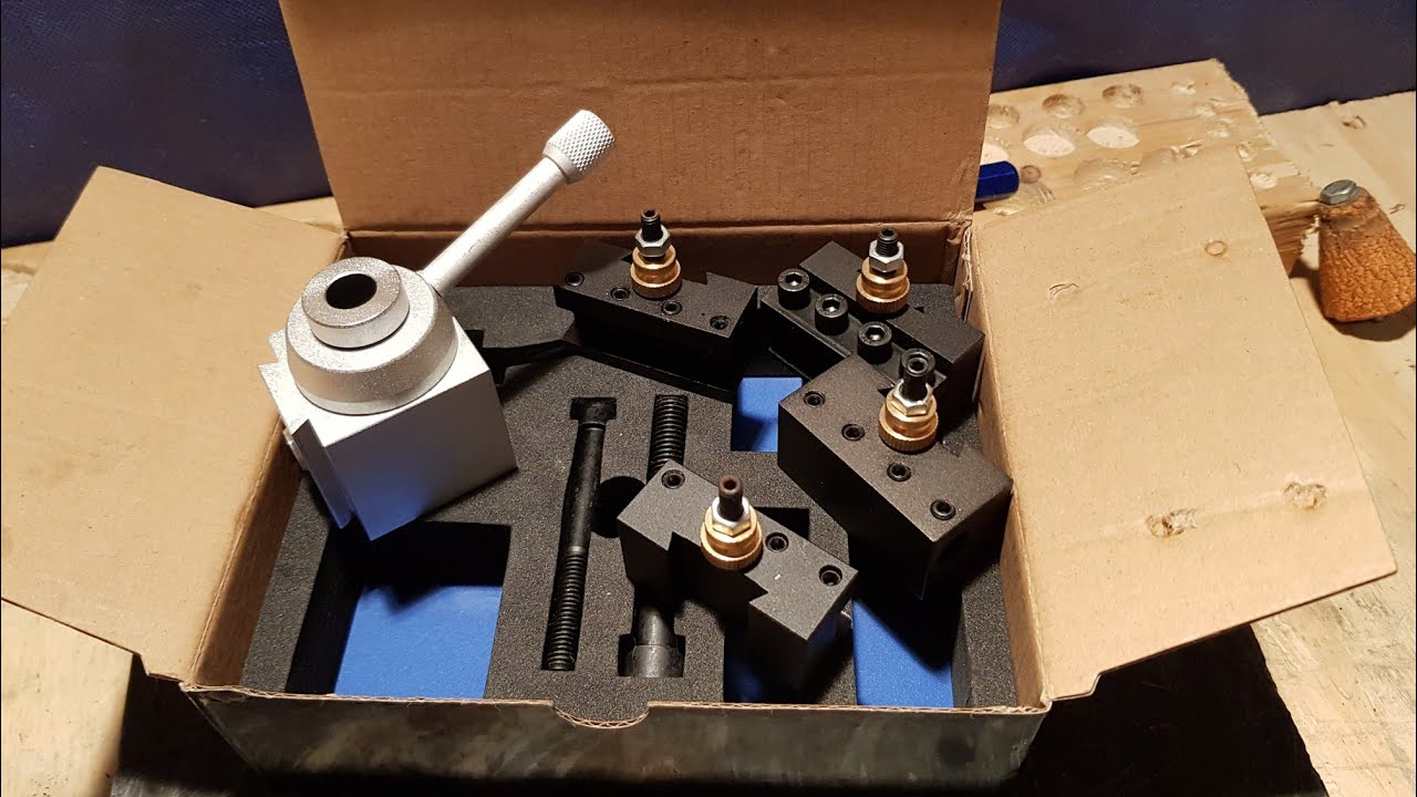 quick change tool post mini lathe 7x14 unboxing youtube 9X20 Lathe quick change tool post mini lathe 7x14 unboxing