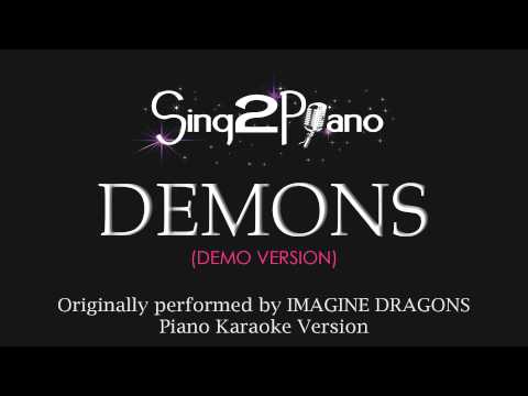 Demons (Piano Karaoke Version) Imagine Dragons
