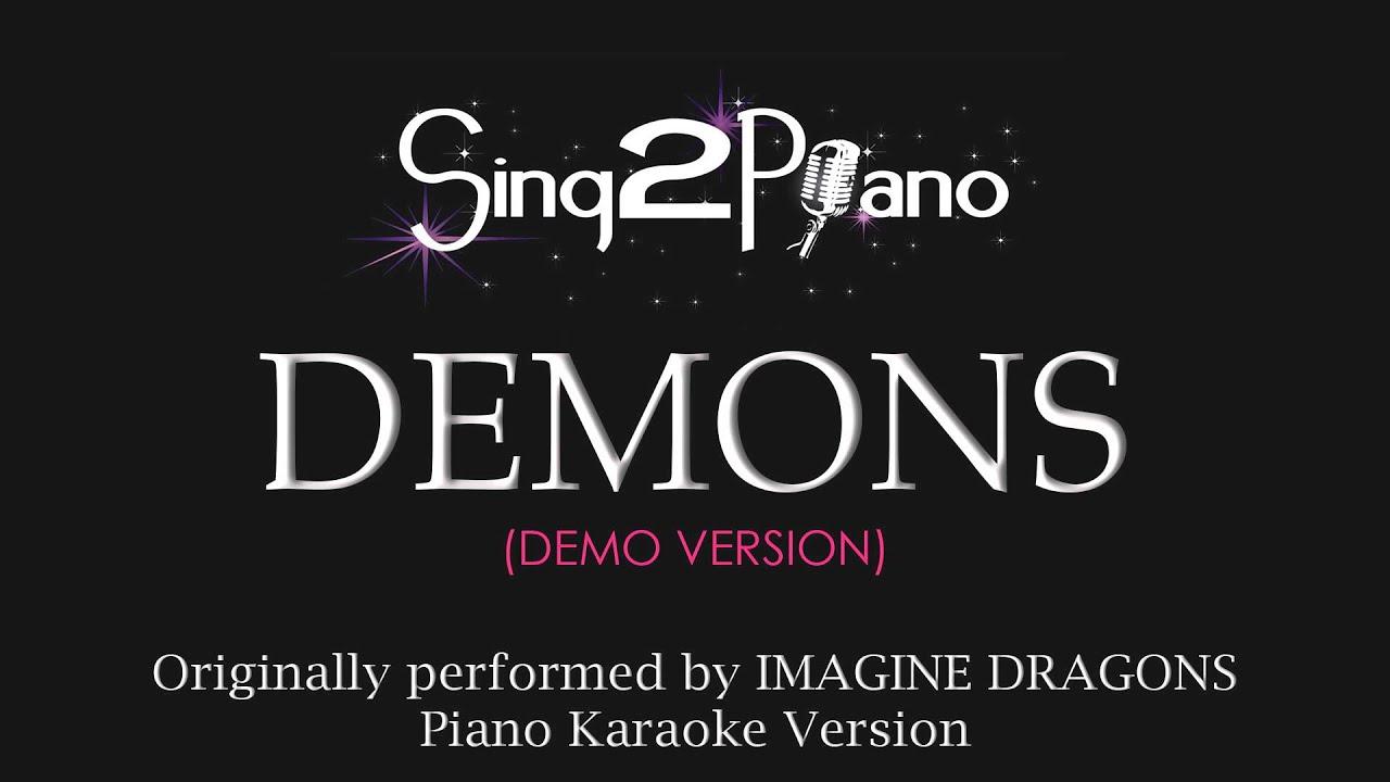 Demons (Piano Karaoke Version) Imagine Dragons