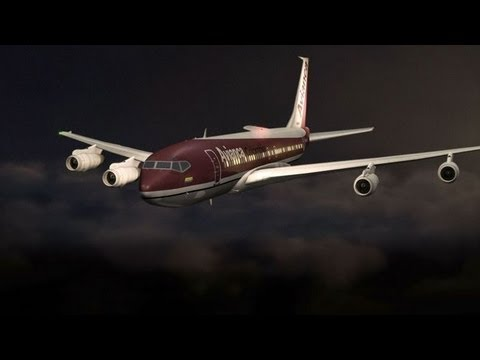 Jet Runs Out of Fuel And Crash