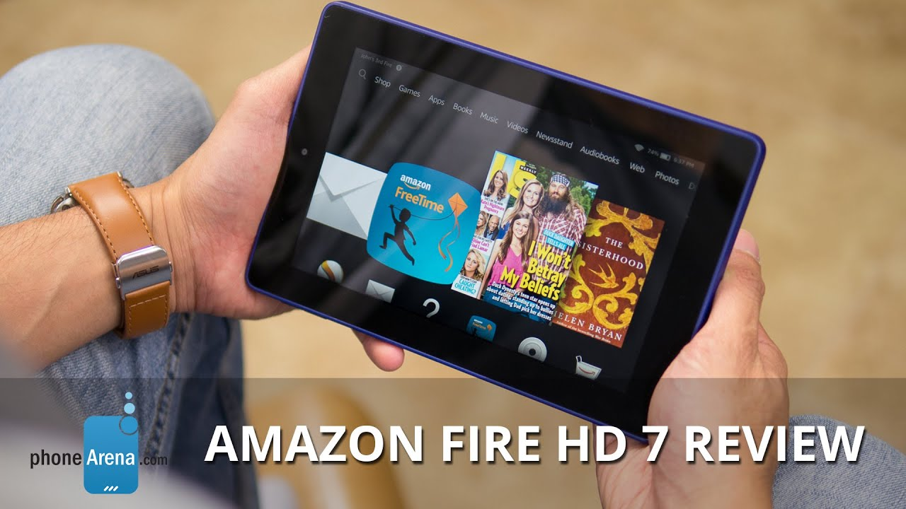 amazon fire hd 7 review youtube