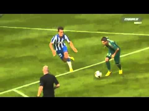 Hamouma great goal (Esbjerg FB 3-3 Saint Etienne ) 3- 2 22 8 2013