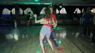 Antonio and Ofri SALSA dance