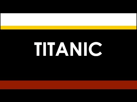 RMS TITANIC: Ship of Dreams (1912)