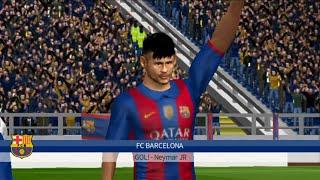 Dream league soccer 2016 | Fc Barcelona Vs Real Madrid
