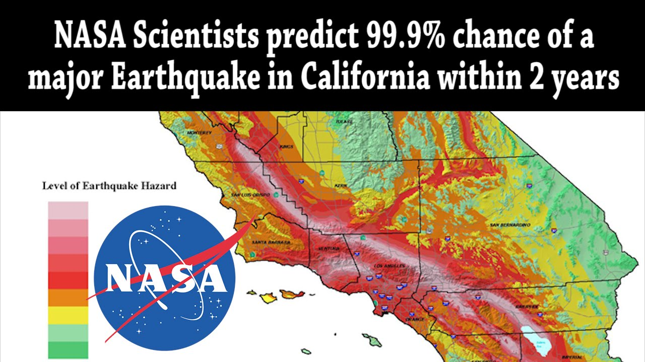 nasa scientists predict 99 9 chance of major earthquake in california within 2 years youtube