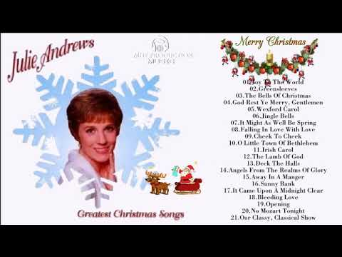Julie Andrews Greatest Christmas Songs   Julie Andrews Christmas Best Songs New Christmas 2018