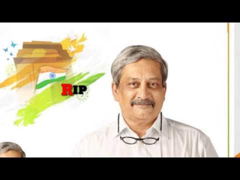 RIP Manohar Parrikar Shradhanjali Status