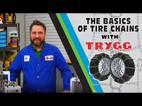 How to Choose and Install Trygg Tire Chains - Gear Up With Gregg's