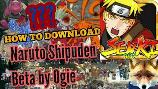 Gambar cover HOW TO DOWNLOAD NARUTO SENKI FINAL MOD BY OGIE (2018)