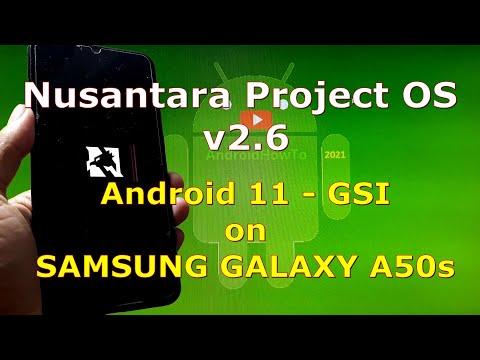 Nusantara Project OS v2.6 Android 11 for Samsung Galaxy A50s