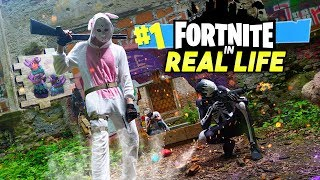 Fortnite in Real Life 🎬FILM