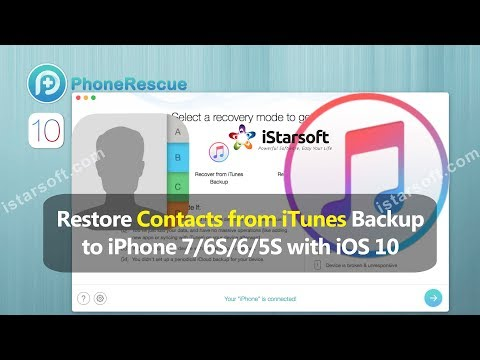 Restore Contacts From Itunes Backup To Iphone 6s 5s With Ios
