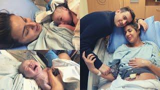 Kanada'da Normal Doğum Hikayem | Natural Birth Story | Epidural ve Suni Sancı ile Doğum |