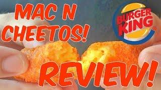 Mac N Cheetos from Burger King! - Review