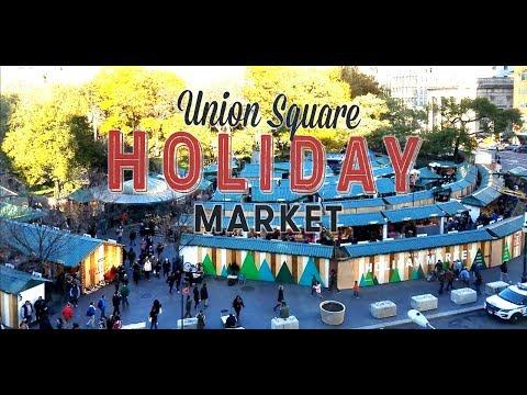 Union Square Holiday Market New York City