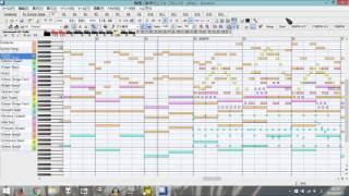 CS版太鼓の達人の収録曲『黒神クロニクル』を再現・アレンジしてみました。