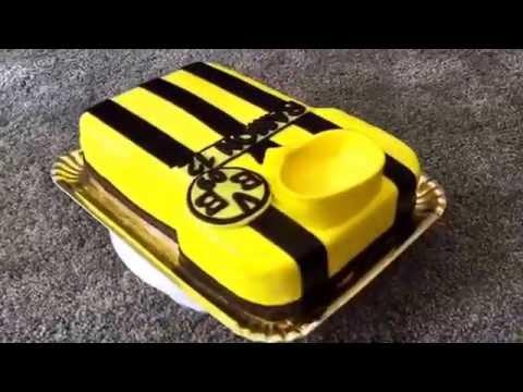 Borussia Dortmund Fussballttrikot Torte