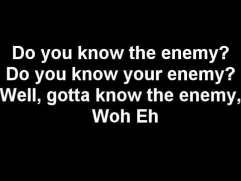 Green Day - Know Your Enemy (Lyrics)