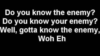 Green Day - Know Your Enemy (Lyrics)
