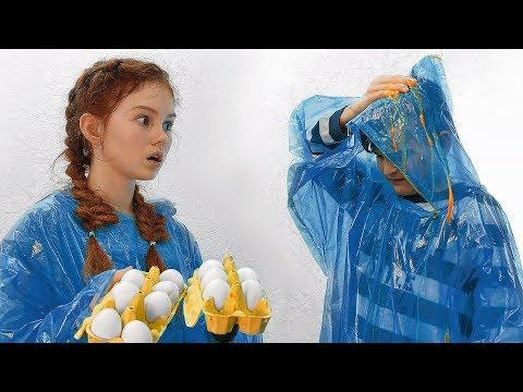 ВАРЕННОЕ или СЫРОЕ яйцо?! НЕОБЫЧНАЯ ИГРА!!!