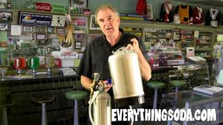 Motorless Kegerator For Making Soda At Home Or Business