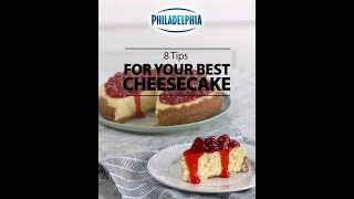 8 tips for your making perfect cheesecakes