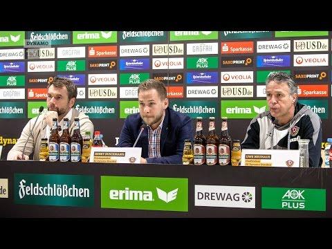21. Spieltag | SGD - FWK | Pressekonferenz nach dem Spiel