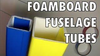 FOAMBOARD FUSELAGE TUBES