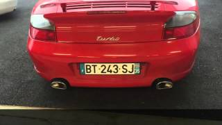 qw custom 996 turbo exhaust