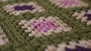 Crochet For Knitters - Granny Square Blanket