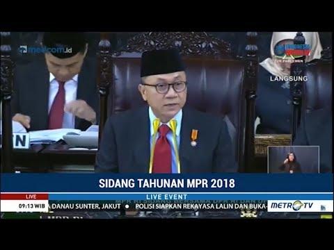 Pidato Zulkifli Hasan di Sidang Tahunan MPR