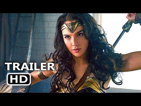WΟNDER WΟMAN Official International Trailer # 2 (2017) Superhero Movie HD
