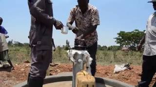 "The ""birth"" of a water well"