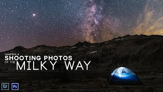 Camping & shooting PHOTOS of the MILKY WAY.