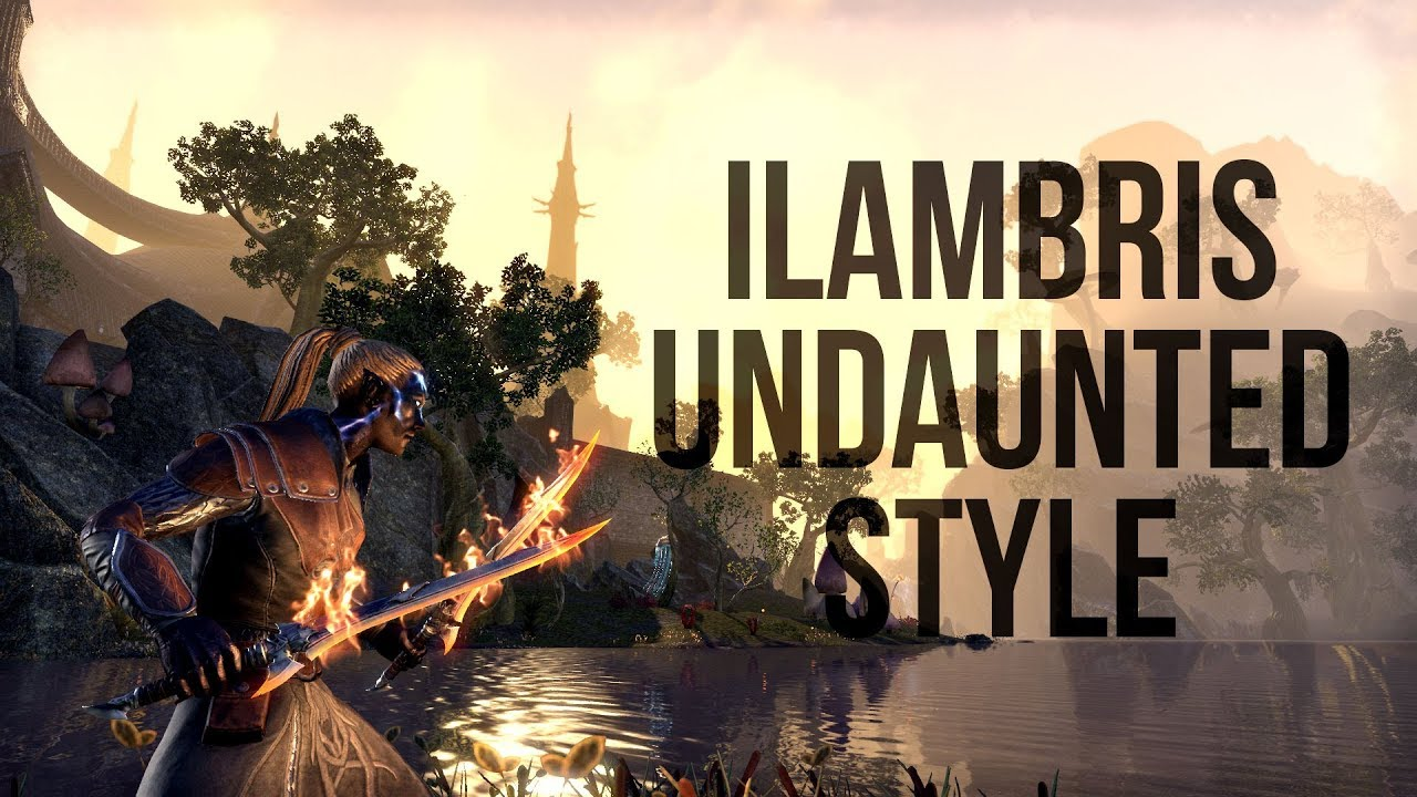ESO Ilambris Undaunted Style - Preview of the Ilambris Outfit Style for The  Elder Scrolls Online