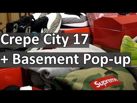 Streetwear events! Crepe City 17 + Basement Pop-Up