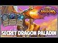 Secret Dragon Paladin   Surviving Standard 155   Hearthstone   Rise of Shadows