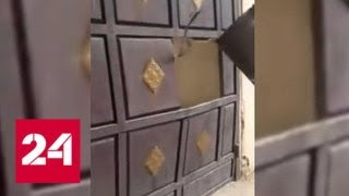 """Смотреть видео """"Ложись!"""": срочную эвакуацию жителей Арыса сняли на видео - Россия 24 онлайн"""